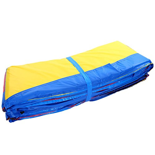 ANCHEER 15 14 12 10 Ft Replacement Trampoline Surround PVC Pad Foam Safety Spring Cover Padding Pads (Rainbow, 10ft) by ANCHEER (Image #8)