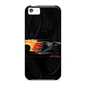 LeoSwiech Apple Iphone 5c Protector Hard Phone Case Support Personal Customs Fashion Mustang Pony Pattern [tUO26CvVn]