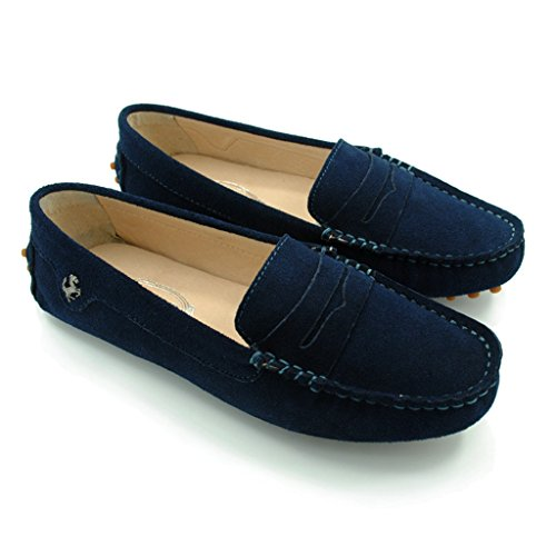 Meijili - Sandalias mujer, color azul, talla 36.5