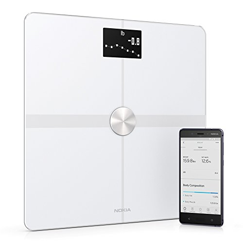 Withings / Nokia | Body+ - Smart Body Composition Wi-Fi Digital Scale with smartphone app, White