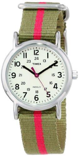 Weekender Olive - Timex Women's T2N917