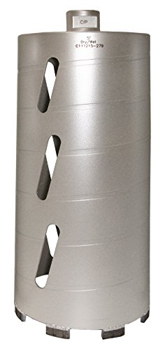(Concord Blades CBD05000HP 5 Inch Laser Welded Dry/Wet Diamond Core Drill Bit)