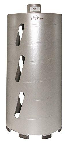 - Concord Blades CBD05000HP 5 Inch Laser Welded Dry/Wet Diamond Core Drill Bit