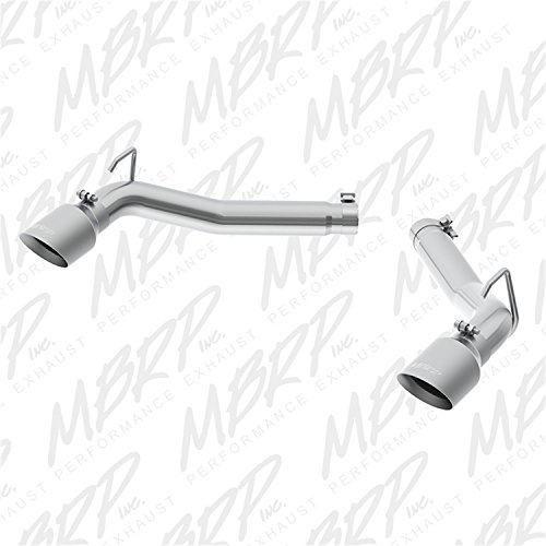 MBRP Exhaust S7019AL Installer Series Dual System Muffler Delete Pipe