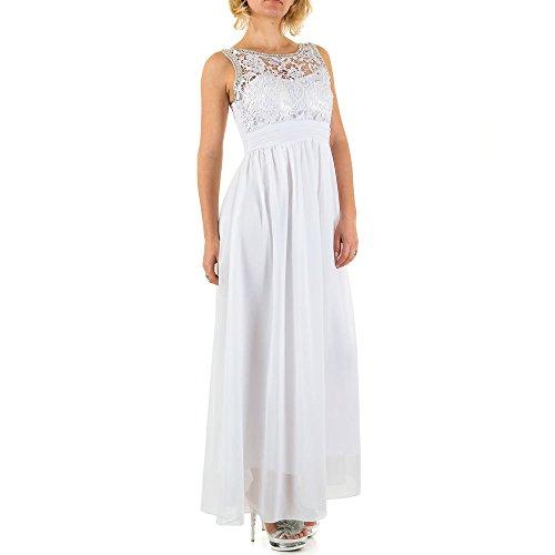 iTaL-dESiGn - Vestido - Noche - para mujer Weiß