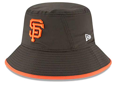 - New Era Authentic MLB 2019 Clubhouse Collection Bucket Hat Stretch Fit : One Size Fit Most (San Francisco Giants)