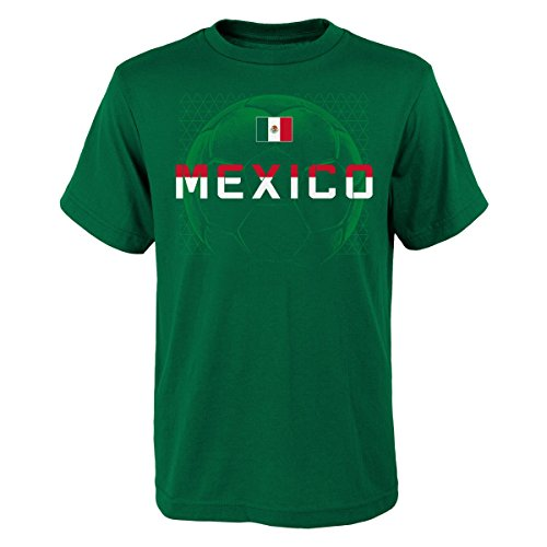 Outerstuff Team Mexico World Cup Soccer Federation Penalty Kick Men's T-Shirt