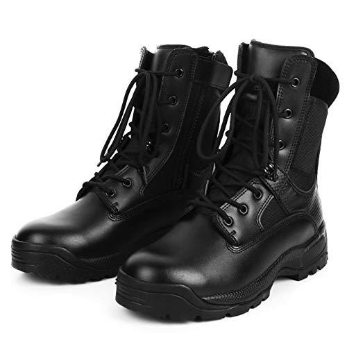 Stivali Stivali Stivali Deserto da High Assorbenti Stivali da Black per Tattici Tattici Tattici Tattici Tops Traspiranti da YC Urto da Leggeri Safety Esterni Calzature Stivali Police Uomo Speciali Combattimento q074XF6