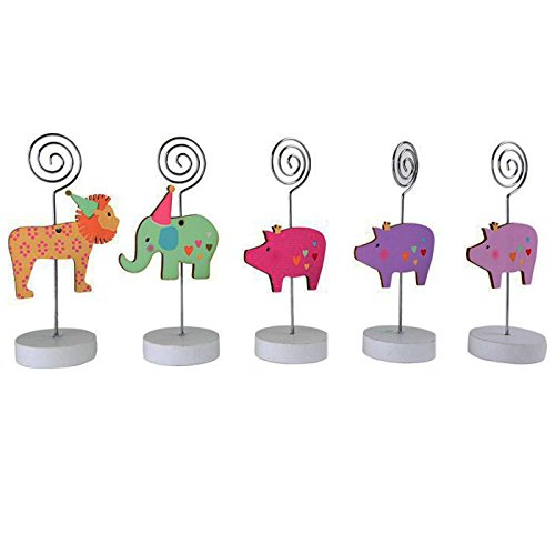 Small Foot Birthday Animal Reminder Holders, Multi-Colour
