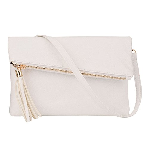 Sherry White02 Handbags Women Shoulder Fashion Crossbody Cell Bags Envelope Satchel Small Evening Phone Purse Orw5qOH1E