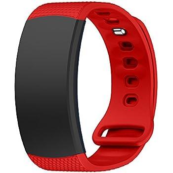 Amazon.com: Hollyfun Samsung Gear Fit2/Gear Fit2 Pro Watch ...