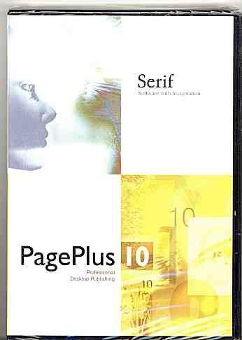 PagePlus 10; Professional Desktop Publishing