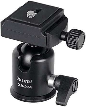 XILETU XB-234 Aluminum Alloy Tripod with Ball Head QR Plate for Camera Camcorder