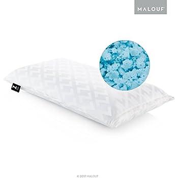 Amazon Com Z Gelled Microfiber Bed Pillow Queen Home