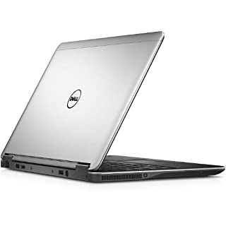 Dell Latitude E7240 Ultrabook Business Laptop PC - Intel Core i7-4600U, 8GB Ram, 256GB SSD, WiFi, Webcam, HD Display, Windows 10 Professional (Renewed)