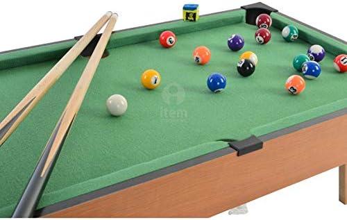 Item Billar - Juego Madera 69X37X24: Amazon.es: Juguetes y juegos