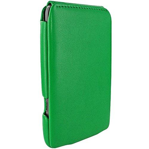 Piel Frama Wallet Case for HTC Titan - Green by Piel Frama