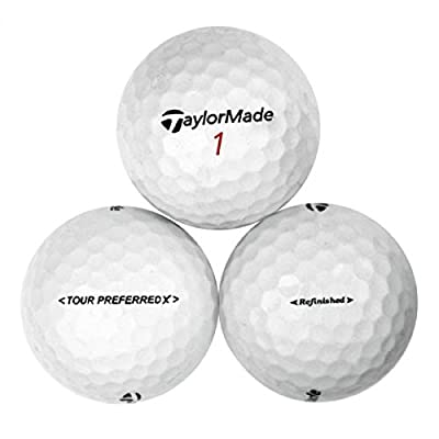 TaylorMade Tour Preferred X MINT NO LOGO Golf Balls - 12 Pack