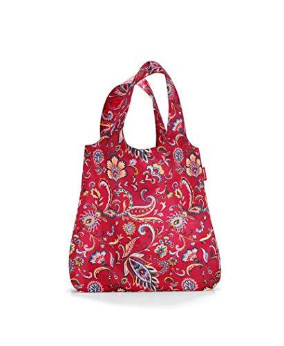 Reisenthel Mini Maxi Shopper Einkaufstasche, Polyester, Paisley Ruby, 60 cm