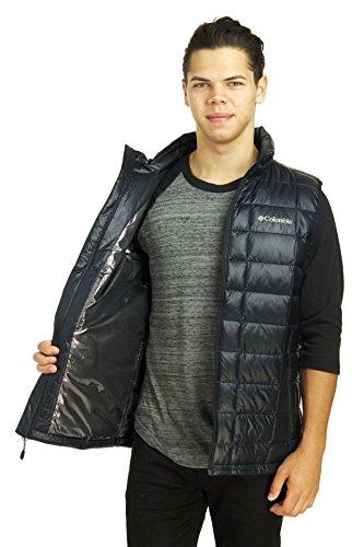 Trask Mens Vest TurboDown¿ Black Mountain Columbia 650 f7SqwxHRHA