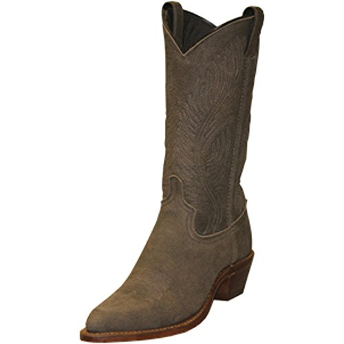 Abilene Women's Bomber Leather Cowgirl Boot Roughout 8 M US Abilene Boots