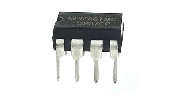 Texas Instruments OP07CP Amplificador Operacional (Pack of 5): Amazon.es: Industria, empresas y ciencia