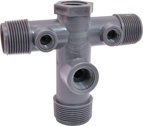 BOSHART INDUSTRIES GIDDS-521080 Pump Tank Safety Cross Pvc - 521080