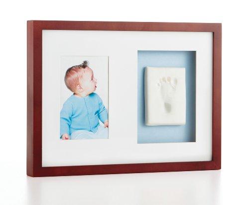 Pearhead Babyprints Keepsake Wall Frame, Mahogany, Baby & Kids Zone
