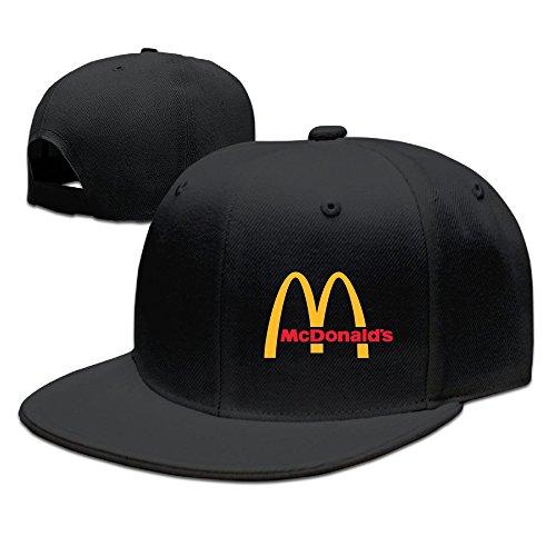 ancatt-mcdonald-logo-adjustable-snapback-cap-baseball-flat-hats
