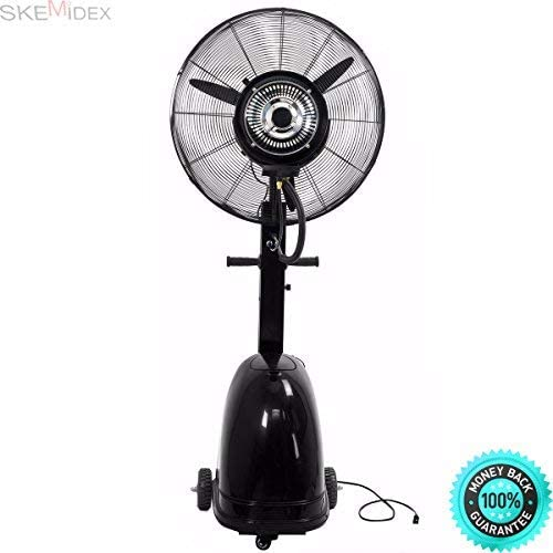 Skemidex Home Depot Portable Fans Box Fans Lowes Fans Tower Fans Fans At Home Depot Fans Ceiling Portable Fan Tower And Commercial 26 High Velocity Outdoor Indoor Misting Fan Black Industrial Cool Amazon Ca Home