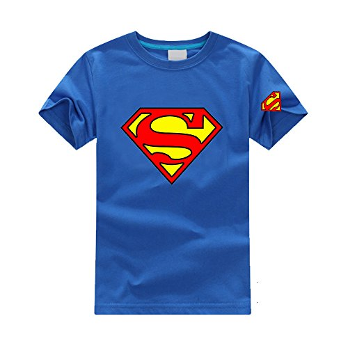Kids Classic Shield Superman T-shirt - 2 to 7 years
