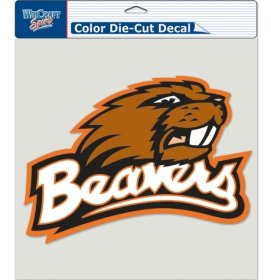 (WinCraft NCAA Oregon State Beavers Die-Cut Color Decal, 8