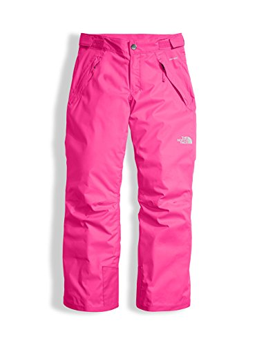 The North Face Youth Girls' Freedom Insulated Pant - petticoat pink, - Womens 18 Pants Ski Size