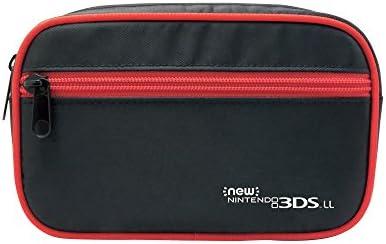 【New 3DS/3DS LL対応】たっぷり収納ポーチ for NEW ニンテンドー3DS LL ブルー