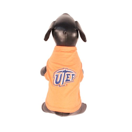 NCAA Texas El Paso Miners Cotton Lycra Dog Tank Top, Tiny