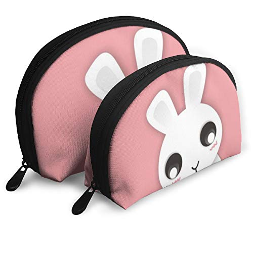 (Child Goods Cute Rabbit Bunny Multi-Functional Portable Bags Clutch Pouch)