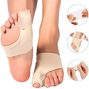 Doact Bunion Corrector Sleeve for Bunion Protector and Pain Relief, Orthopedic Gel Bunion Pad for Women Men Toe Splint Support for Hallux Valgus, ...