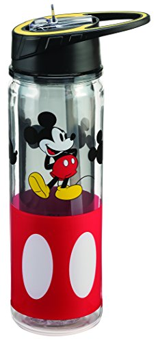 Disney Mickey Mouse 18 Oz. Tritan Water Bottle