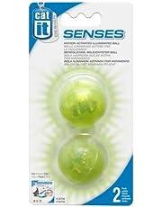Catit Design Senses Illuminated Ball - 2-Pack, Green