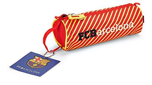 Offiziell lizensiertes ORIGINAL FC FCB Barcelona 20cm Federmäppchen / Schlampermäppchen