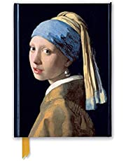 Johannes Vermeer: Girl with a Pearl Earring (Foiled Journal)