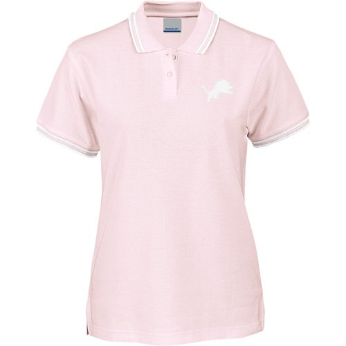 Reebok Detroit Lions Women's Classic Orchid Ice Polo Extra Large