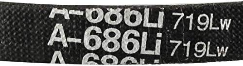 Sourcingmap A-686//A27 Correa de transmisi/ón de goma 68,6 cm