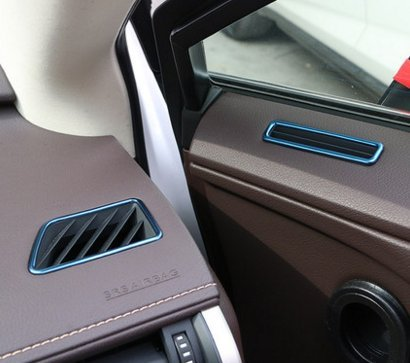 (Eppar New Side Air Duct Covers for Lexus RX200t RX350 RX450h 2016-2019 (Blue))