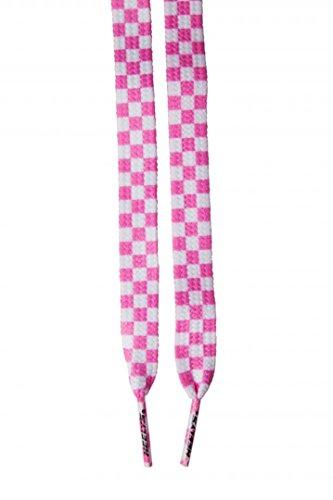 HEELYS Heelys Laces Check - Cordones, Unisex, Rosa - (Pink/White)