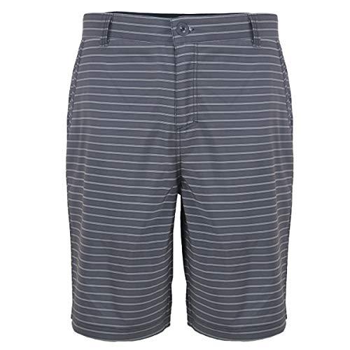 Men's Hybrid Frickin Chino Short Lightweight Boardshorts Plaid Amphibian Pants