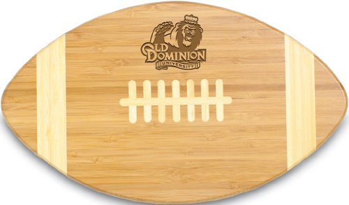 Ncaa Old Dominion Monarchs Touchdown  Bamboo Cutting Board  16 Inch