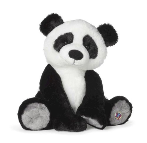 Webkinz Charming Panda with Trading Cards