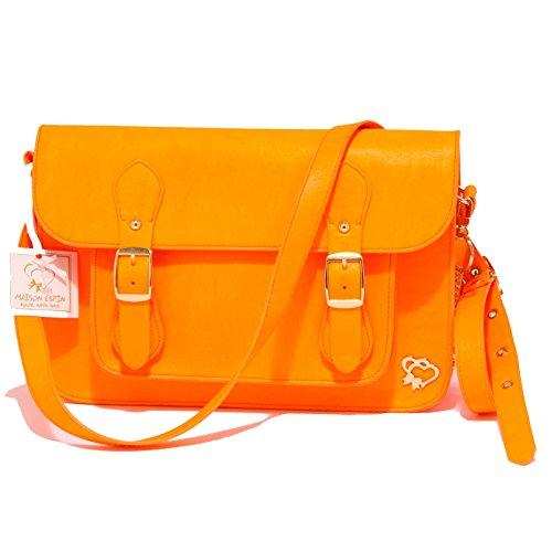 Espin 3562q Maison Bag Tracolla Regolabile Arancione Woman Fluo Borsa Donna HHFtxqwRS