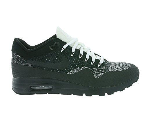 Nike Air Max 1 Ultra Flyknit Baskets De Course Noir Anthracite Blanc